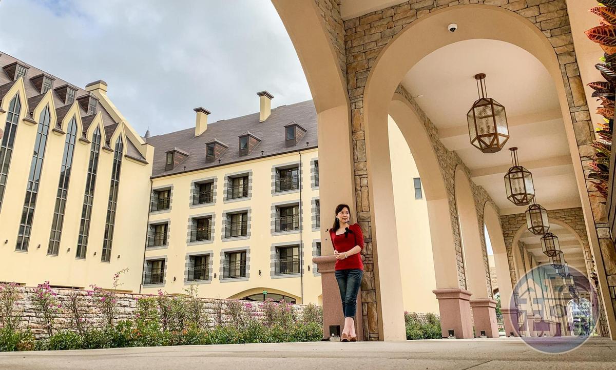 主建築「城堡」區充滿歐風義式浪漫。