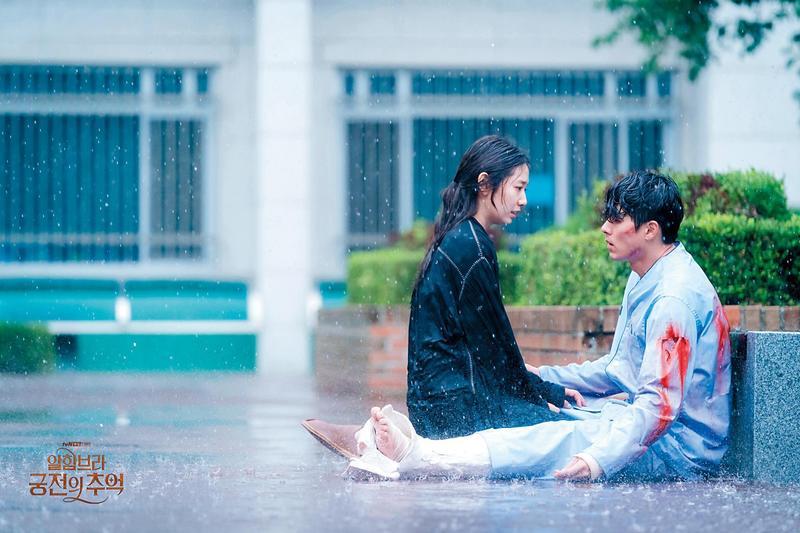 韓劇《阿爾罕布拉宮的回憶》布局精密拍攝細,結合遊戲突破戲劇框架的發展,令人嘖嘖稱奇。(東方IC)