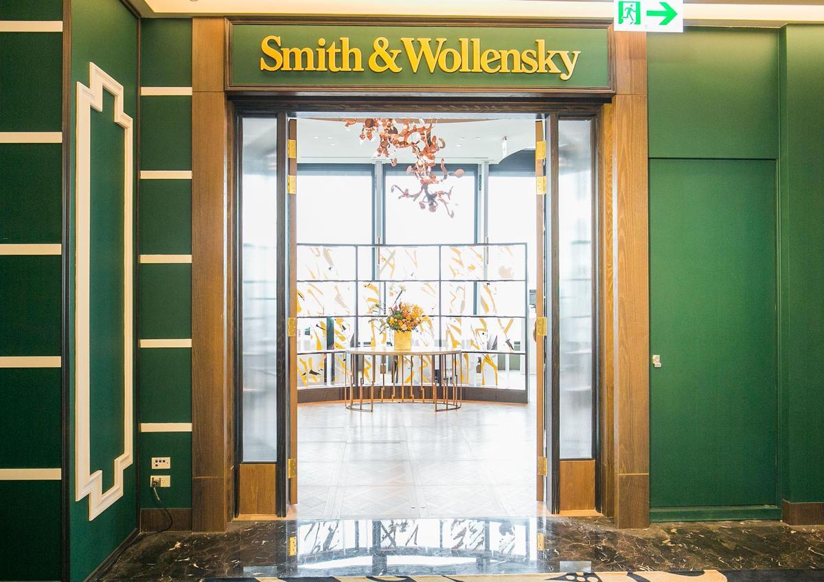「Simth & Wollensky」在紐約已有超過40年歷史,是相當出名的老牌頂級牛排館。(圖片由Smith & Wollensky台北店提供)