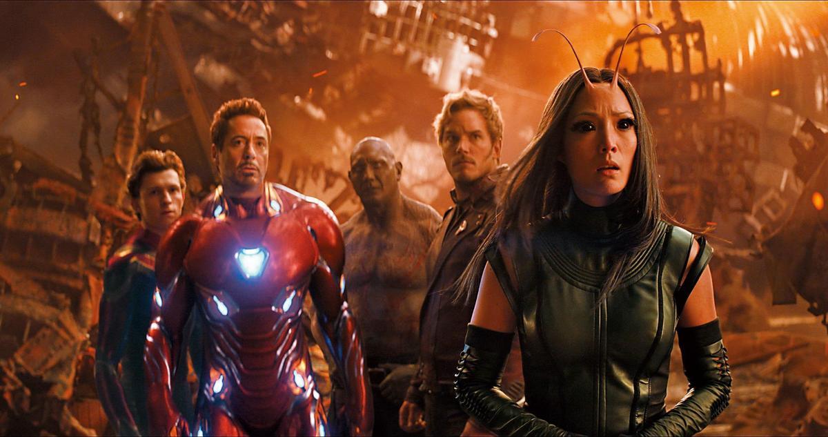 去年10大賣座電影有一半是迪士尼出品,且包辦前3名,分別是漫威工作室的《黑豹》和《復仇者聯盟:無限之戰》,以及皮克斯動畫電影《超人特攻隊2》。(東方IC)