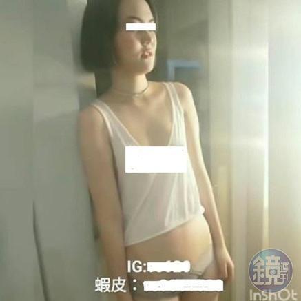 胡嘉嘉女兒遭內衣廠商拍下不雅照。(讀者提供)