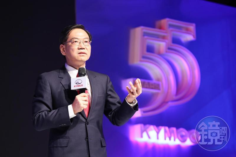 光陽執行長柯俊斌現場發下豪語,喊出明年要拿下連續20冠,全車系銷售目標達33.6萬台。