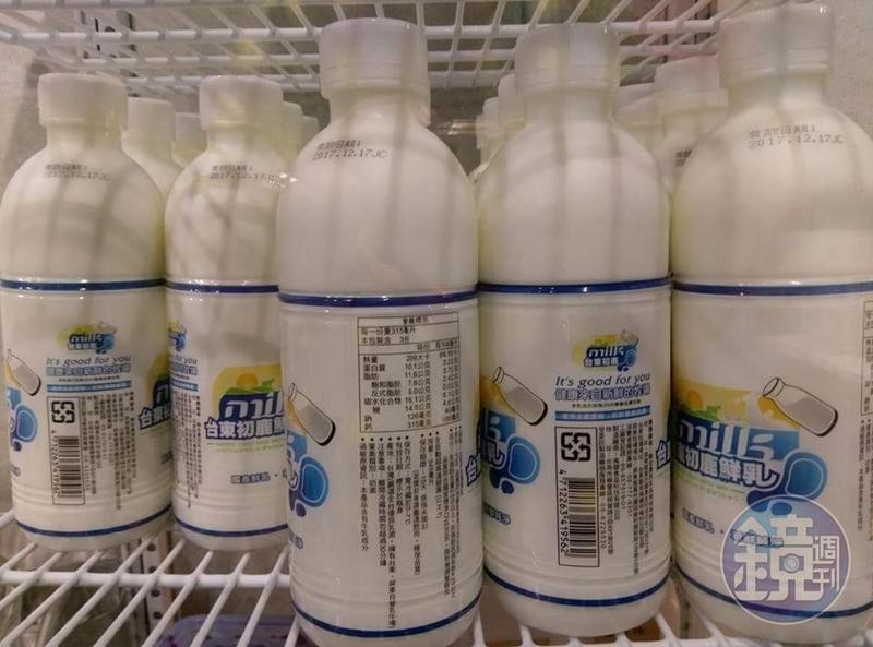 民眾指控業者配送的鮮乳品牌,竟是商標遭廢止的侵權產品。(讀者提供)