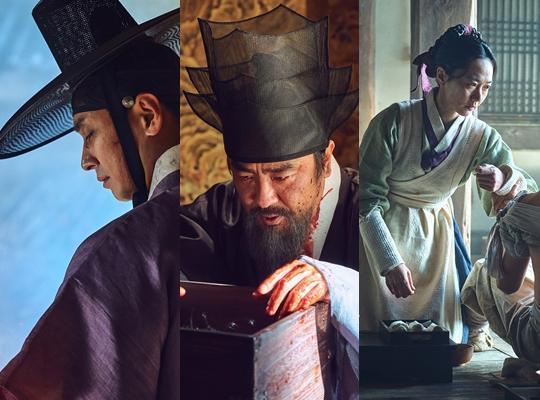 朱智勛、柳承龍和裴斗娜聯手演出Netflix 2019年度大劇《李屍朝鮮》。(Netflix提供)