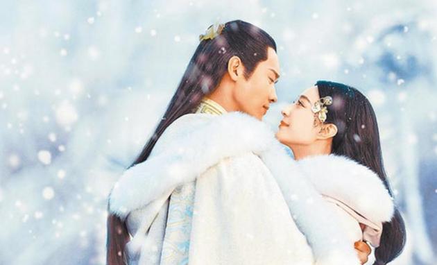 高雲翔和范冰冰主演的古裝大戲《巴清傳》上映之日遙遙無期。(翻攝新浪娛樂)
