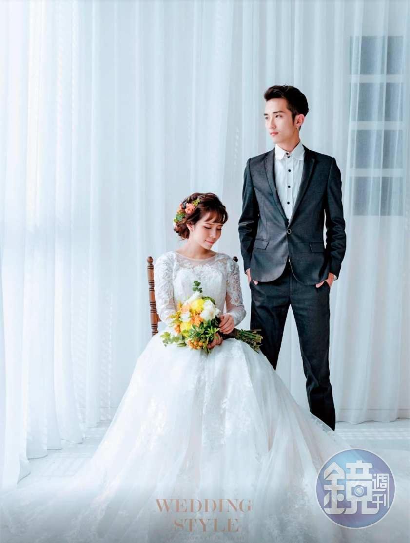 Manson與陳香菱在2016年結婚,去年已離婚。(讀者提供)