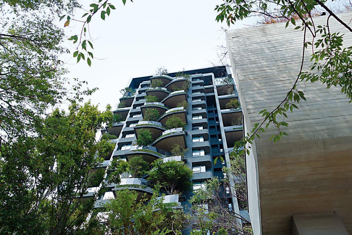 王傳一所住的豪宅是得獎設計,根據媒體報導,在新竹算是第二名的「豪宅王」。(翻攝自樹花園官網)