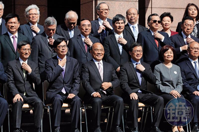 蘇貞昌重新組閣之後再三強調,只有成績才是一切,人民感覺好才是王道。