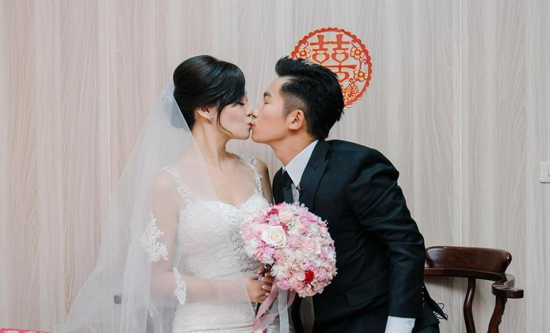蔡昌憲迎娶空姐女友,婚禮由他一手策劃。(群星瑞智提供)