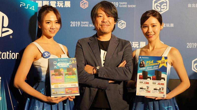 台灣索尼互動娛樂總經理江口達雄宣布,將於1月25日到2月3日祭出PS4史上最強優惠方案。(圖:翻攝自「PlayStation_TW」臉書粉絲專頁)