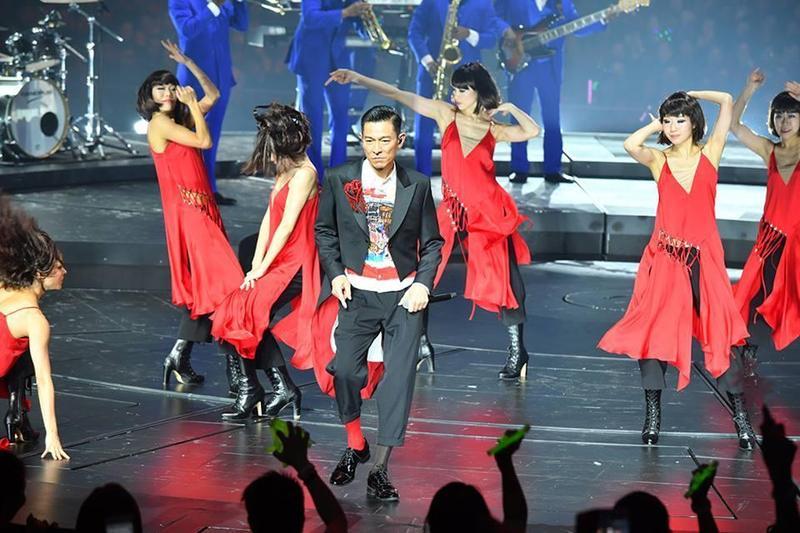 主辦單位正式公布,劉德華演唱會申請香港紅磡體育館補場失敗。(翻攝自My Love Andy Lau World Tour)