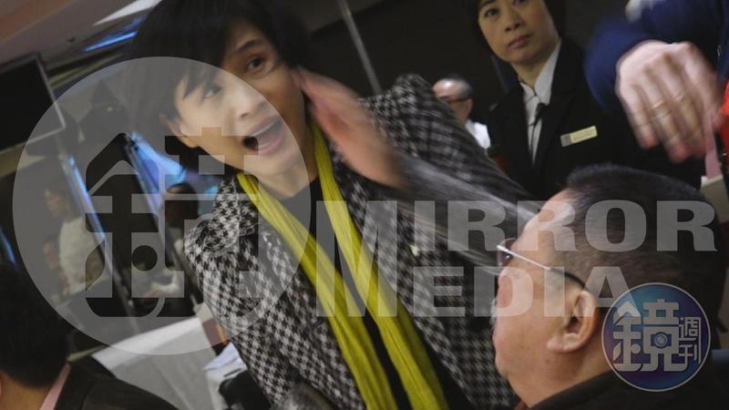 文化部長鄭麗君被打巴掌無意追究,資深藝人鄭惠中今獲不起訴處分。