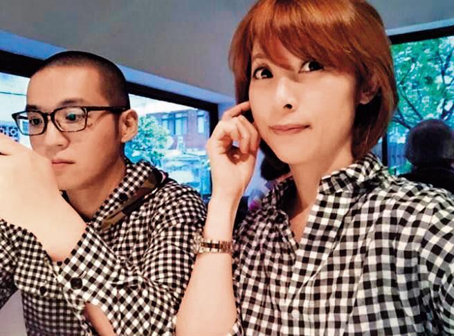 貴婦奈奈(右)和老公黃博健(左)潛逃加拿大,引起當地台胞群情激憤,已在臉書組成社團緊追行蹤。(翻攝貴婦奈奈臉書)