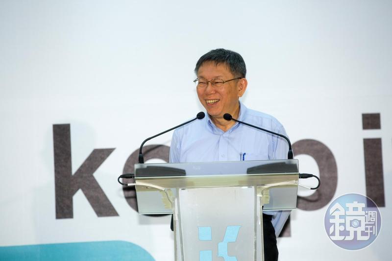 台北市長柯文哲選2020總統聲勢高漲,作家苦苓點出「4個沒有」認為他不適合選總統。(本刊資料照)