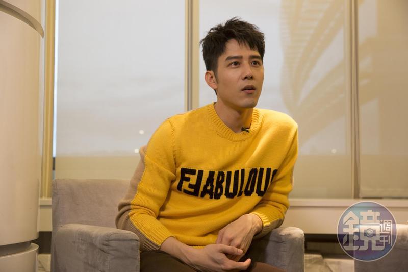 胡宇威拍床戲之前曾和導演黃朝亮研究底線。
