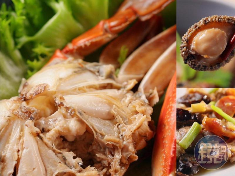 「望月樓」餐廳主廚蘇權暉敎做的3道年菜,氣派美味又簡單易學。