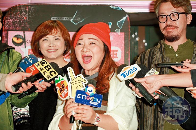 當年尊重成龍的言論自由,如今白冰冰(網稱Tw ice,是「台灣冰」不是韓國女團Twice)出席《玩命貼圖》的媒體採訪,自己的作品接連被酸民吐槽。