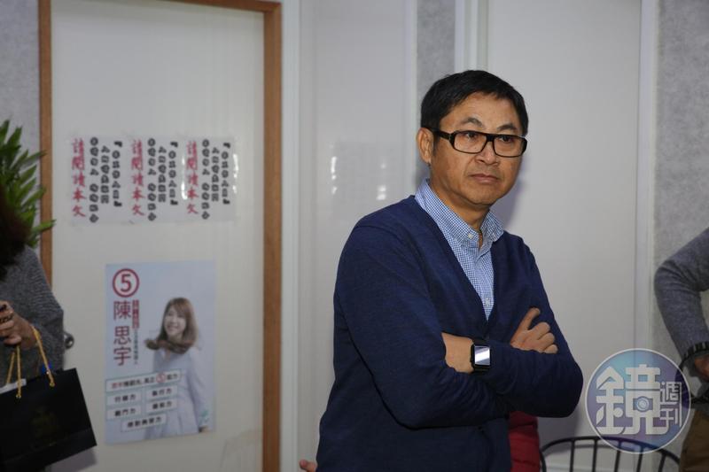 對於女兒陳思宇落選,北市議員陳建銘表示十分不捨。
