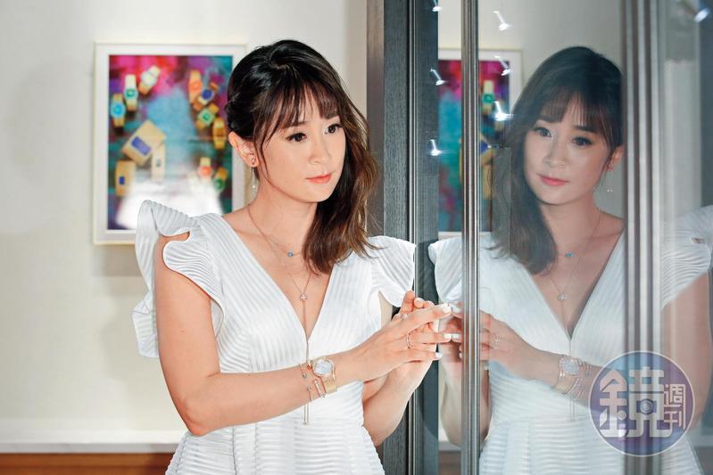 李晶晶經常出席時尚活動,對精品極有見解與品味。