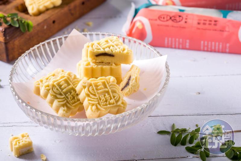 「美人綠豆冰糕」香滑綿細,豆味清甜。(198元/9入)