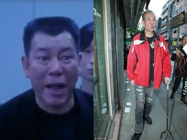 出院後的李兆基瘦得不成人樣,跟以前判若兩人。(翻攝新浪娛樂)