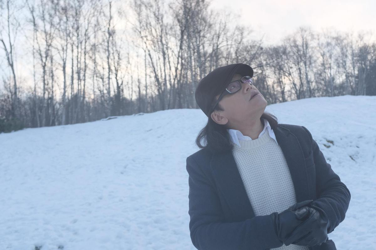 流氓阿德遠赴日本北海道拍攝廣告,捕捉零下10度的絕美雪景。(洗耳恭聽提供)