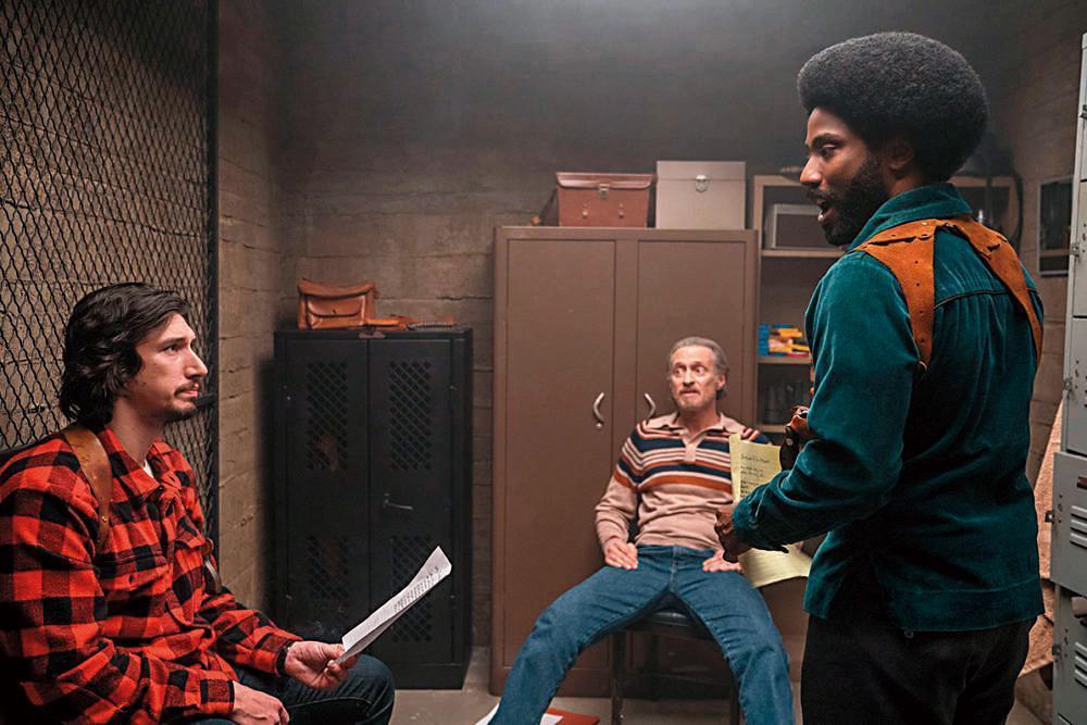 入圍奧斯卡最佳影片的電影在內容上需要傳遞正面訊息,圖為以黑色喜劇手法處理種族議題的《黑色黨徒》。(翻攝自imdb.com)