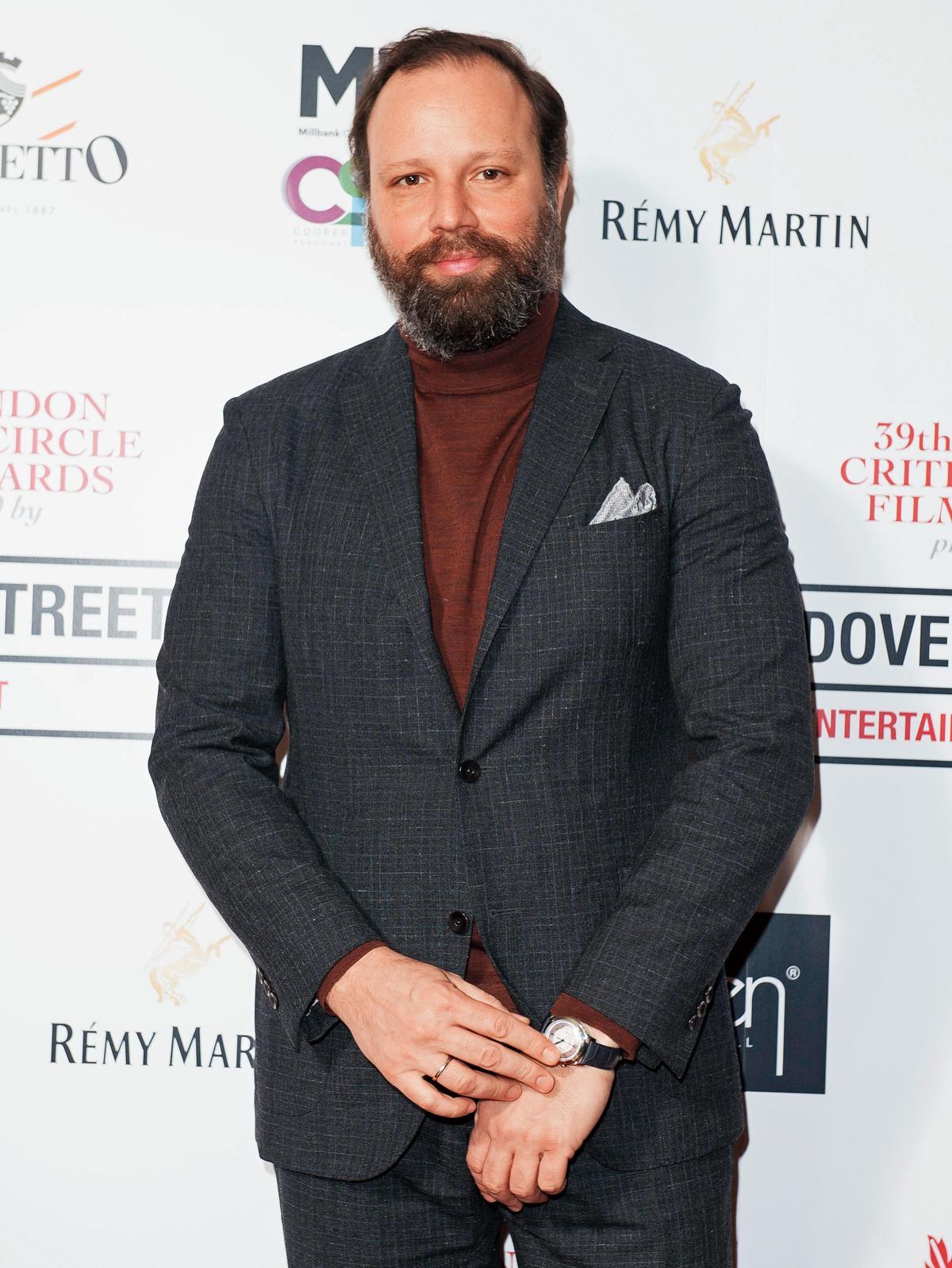 希臘導演尤格藍西莫今年因《真寵》首次入圍奧斯卡最佳導演獎。(東方IC)
