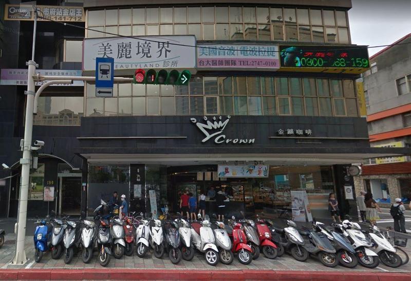 金鑛咖啡台北忠孝店不敵租金高漲,本月中悄悄宣布熄燈。(翻攝自google map)