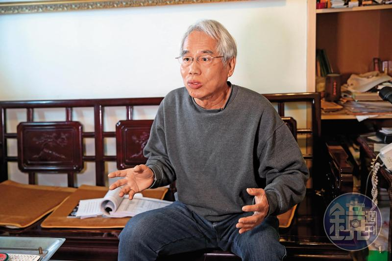 台灣之聲網路電台負責人許榮棋只有2.4坪的都更案土地,卻成功扳倒有上千坪土地的建商。