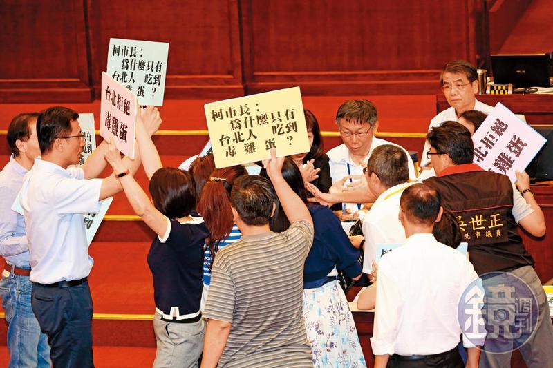 柯文哲宣布參選總統時機點,最快要等台北市議會總質詢結束,也就是今年6月之後。