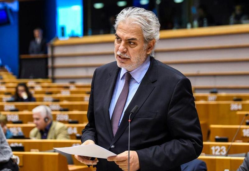 歐洲議會罕見針對「兩岸關係」做討論,呼籲兩岸應維持現狀,也強調歐盟將密切與台灣合作。(翻攝自Christos Stylianides推特)