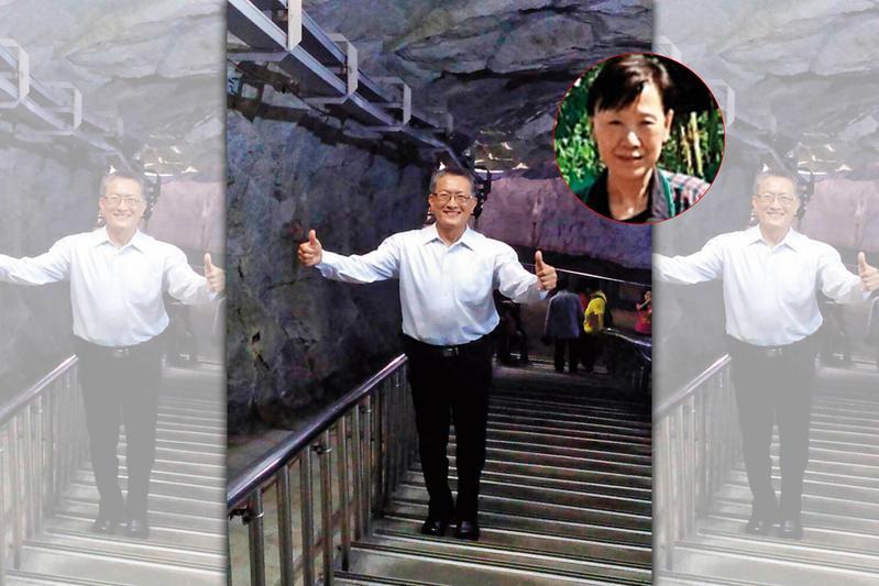 楚瑞芳和將軍丈夫王光遠(圖)是政治作戰學校政治系同班同學。(翻攝王光遠臉書)