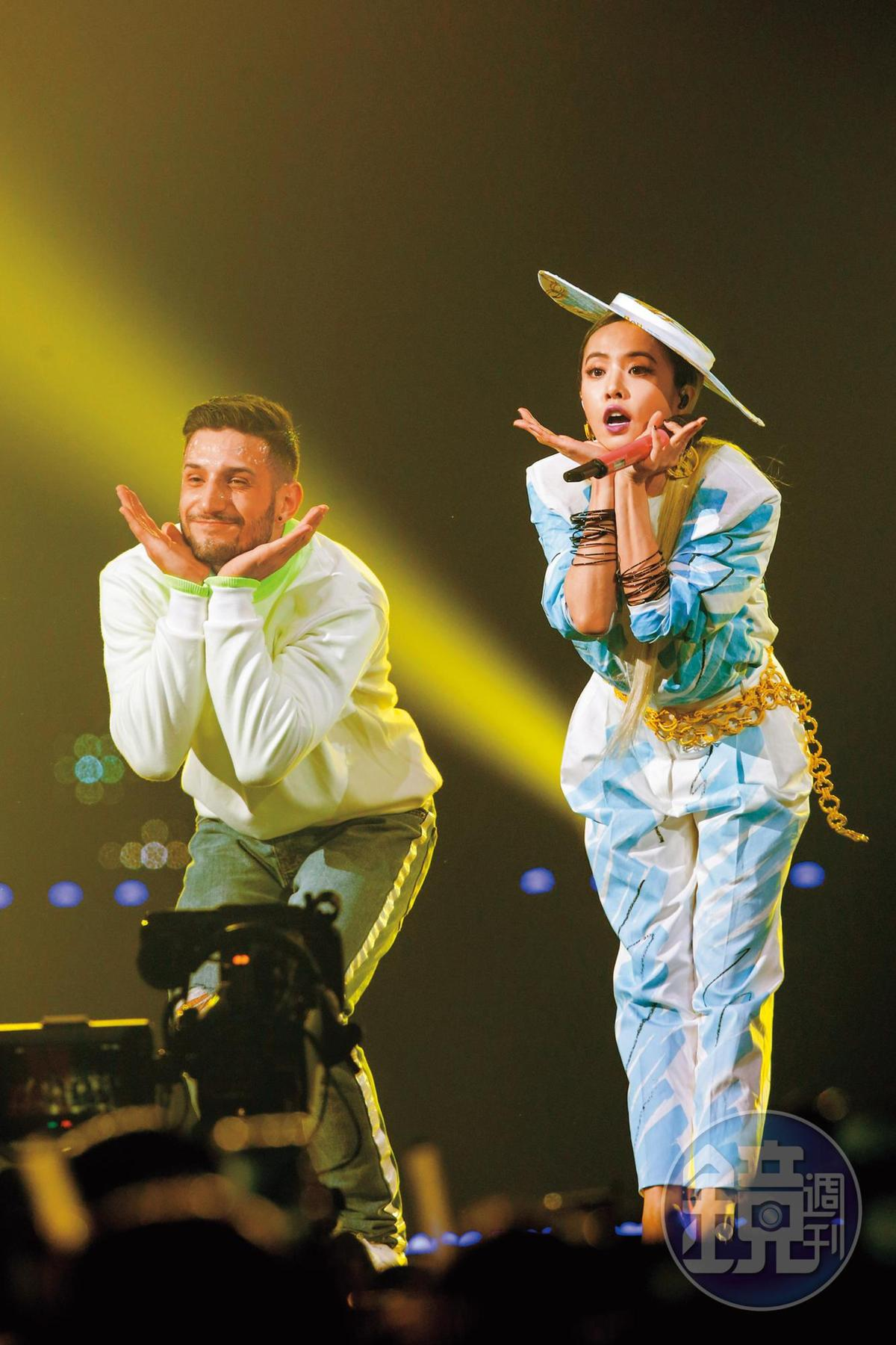 在KKBOX風雲榜演唱會上,蔡依林依舊唱跳賣力,蔡依林以前覺得舞蹈只是一種工作,但現在當成脫離現實世界的方式。