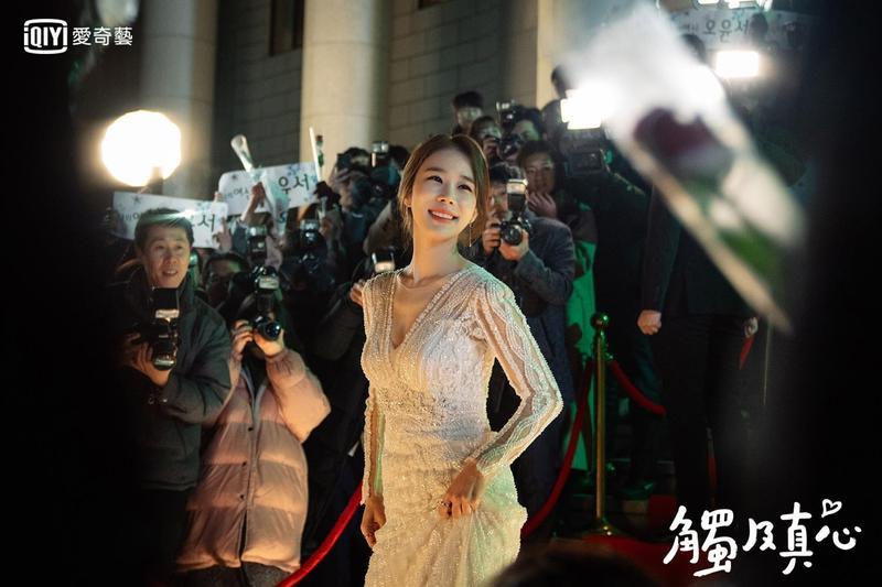 劉寅娜在《觸及真心》飾演過氣女明星,到律師事務所打工3個月。(愛奇藝台灣站提供)