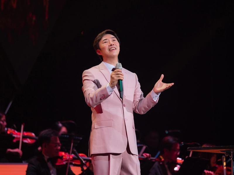 費玉清的告別演唱會8日在台北小巨蛋開跑,每唱一場就離退休的日子越近。(寬宏藝術提供)