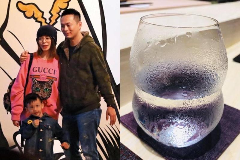 徐若瑄慶祝結婚5週年,沒想到卻因為一個水杯,要老公「回家跪算盤」。(合成照,左圖為本刊資料照,右圖翻攝自徐若瑄臉書)