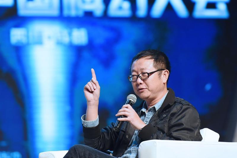 劉慈欣作品《流浪地球》被翻拍成電影,成為首部登上北美電影院的中國科幻片。(東方IC)