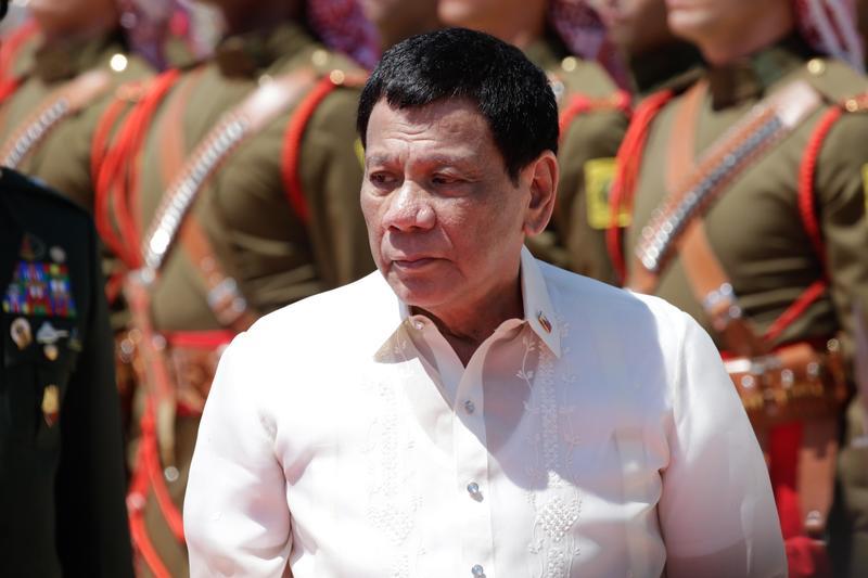菲律賓總統杜特蒂。(東方IC)