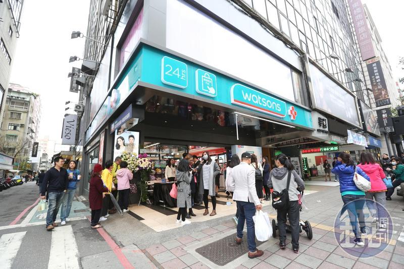 屈臣氏日前發生店員被客人攻擊的事件,圖為示意圖,非事發店家。