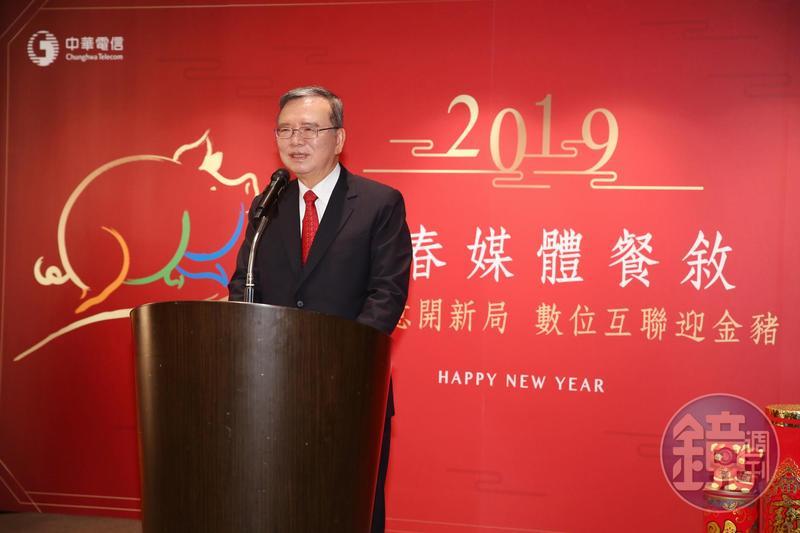 中華電信董事長鄭優表示,今年以提升平均帳單金額為目標,也表示若對手不招惹,不會以低價反擊。