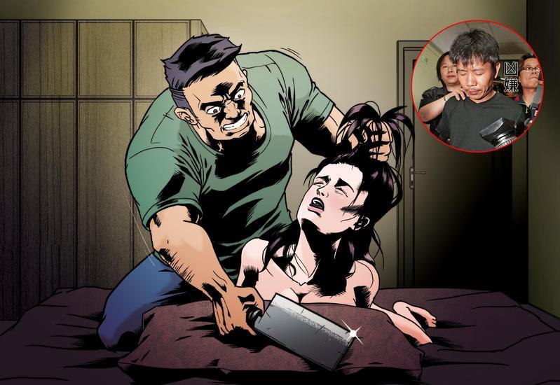 葉女不堪已婚男友林吉杉借錢不還,也不想再背負小三罵名,向林提出分手,不料卻遭林反綁手腳後,割頸23刀慘死。