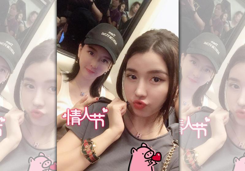雙胞胎女團By2宣布改藝名。(By2微博)