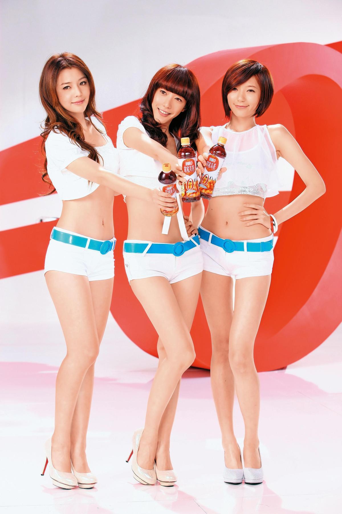 Dream Girls解散後,李毓芬(左)和宋米秦(中)幾乎已和郭雪芙(右)斷了聯絡。(東方IC)