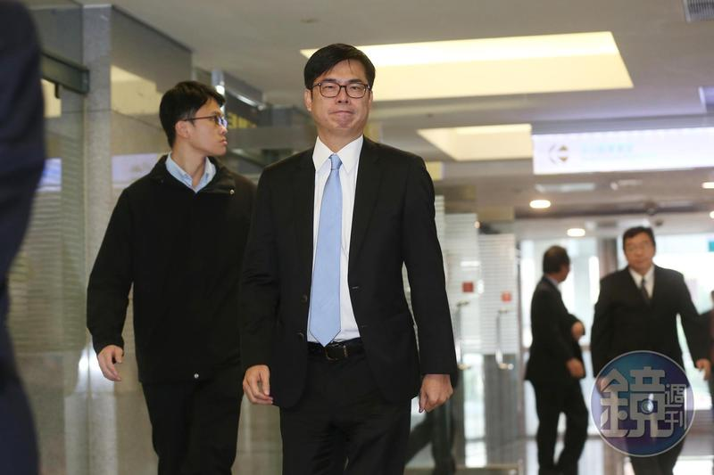 同婚專法法案名稱未定案,副閣揆陳其邁表示,會在釋憲結果和人民公投結果之間做最好的決定。