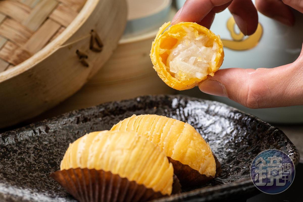 「蘿蔔絲酥餅」酥香化口不油膩,蘿蔔絲切得較粗,保留脆度。(140元/份)
