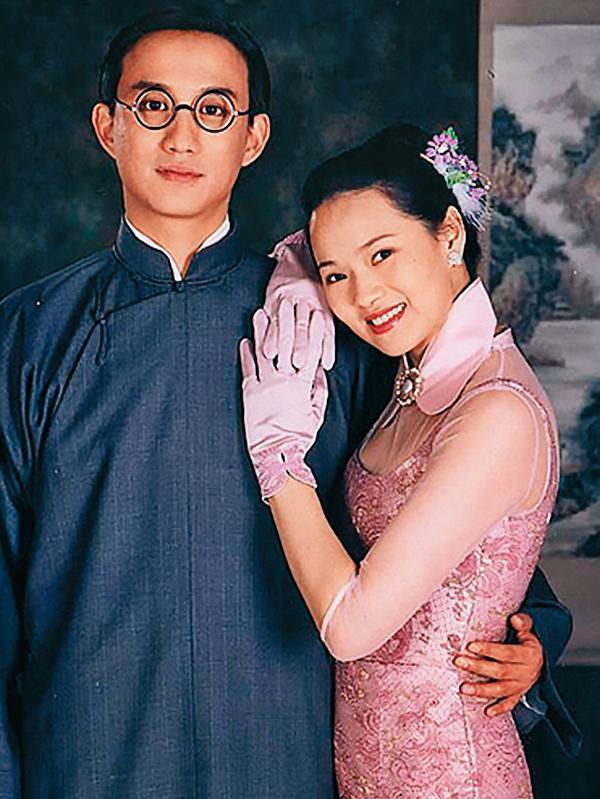 伊能靜(右)曾多次發出律師聲明,否認跟黃磊(左)因為拍攝《人間四月天》而傳出的緋聞。