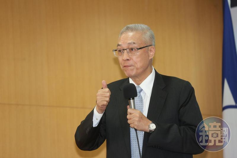 吳敦義公開表示自己是中國人,引起對岸網友兩極評論。