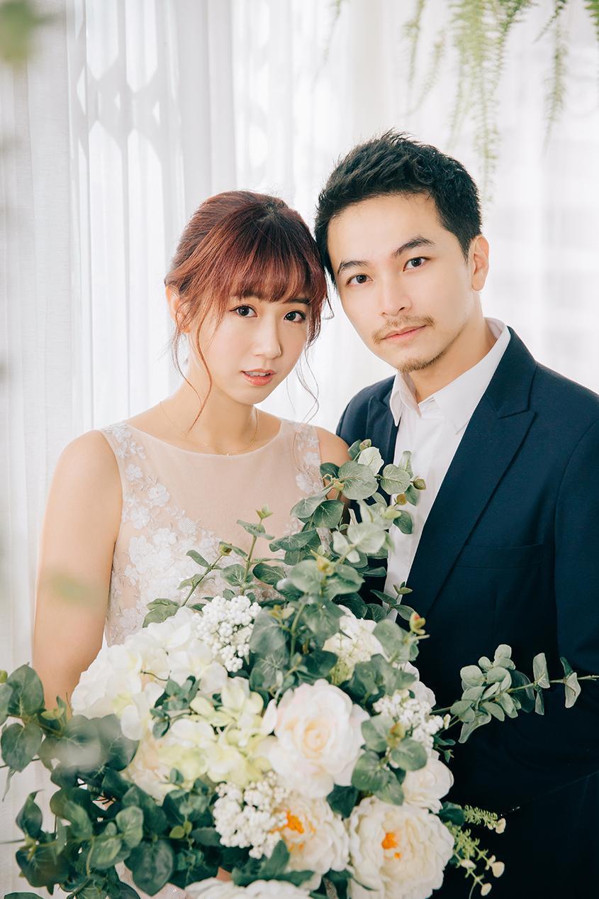 結婚4年,方志友和楊銘威也加入同一間經紀公司。(C.H. WEDDING提供)
