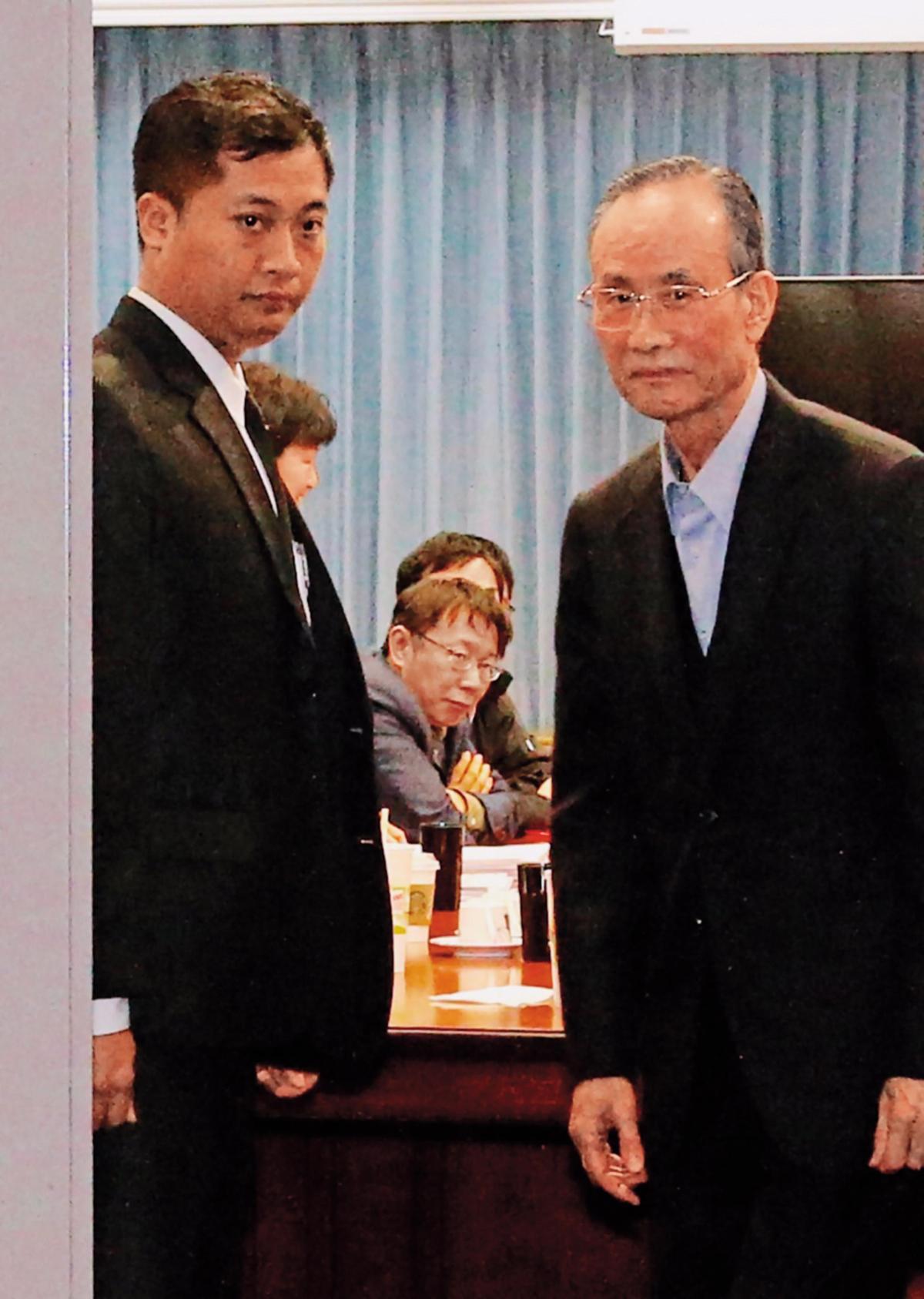 柯P對大巨蛋交易樂觀其成,也希望就此斷開與趙藤雄的恩怨情仇。(中央社)
